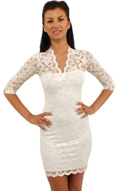 Love lace! I could see myself getting married in this:)