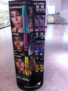 Maybelline Endcap, Chicago, June 2014