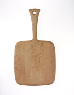 Birds-Eye Maple Cutting Board with Handle, Third Drawer Down