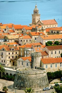 Korcula town Island Korcula, Croatia: http://smart-travel.hr/en/locations/croatia/