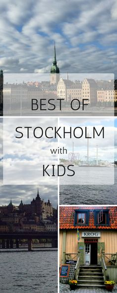 Thinking of visiting Stockholm with kids? Find out here what to do in Stockholm with children, best child friendly museum, how to get around and what you can't miss. All about Stockholm with kids.