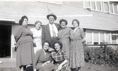 GLH aunts & grandfather and ?.