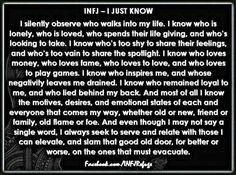 INFJ AND Gemini .. Lethal combo..