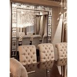 Special Order Design: The Tiffany Wall Mirror 48 x 42 inches * Custom Sizes Available * Request Quote