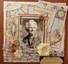 Whose yesterdays look backward with a smile - Scrapbook.com