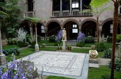 Image result for roman courtyard