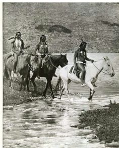 Blackfeet riders