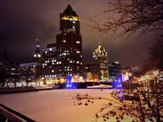Magnificent Milwaukee, on a cold winter night!