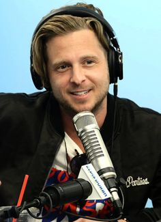 "Ryan Tedder visits ""The Elvis Duran Z100 Morning Show"" in New York City (May 20, 2016)."