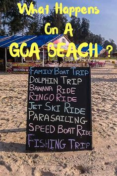 Adventure Water Sports you can try on a Goa Beach