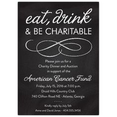 Eat Drink And Be Giving Fundraiser Fundraising Dinner Cocktail
