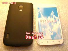 Jual Silikon Soft Case LG Optimus L7 ii P715 Dual Hitam (Black) Pekat | Toko Online Rame | KODE BARANG : 1615