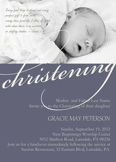 Baby dedication invitation Babies Dedication ideas and Christening
