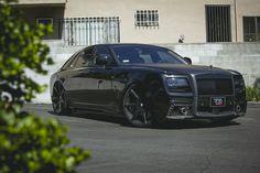 RDB LA's Blacked Out Rolls Royce Ghost