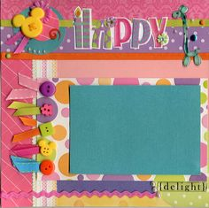 Searchwords: Birthday Balloons Left Page Baby Girl Scrapbook, Disney Scrapbook Pages, Kids Scrapbook, Scrapbook Paper Crafts, Scrapbook Cards, Birthday Scrapbook Layouts, Scrapbook Layout Sketches, Scrapbook Designs, Scrapbooking Layouts