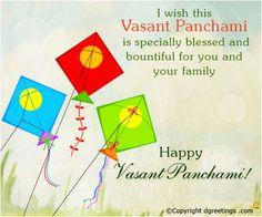 Send warm wishes on Vasant Panchami.