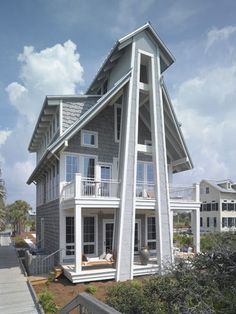 1000 Images About Beach House Plans On Pinterest House