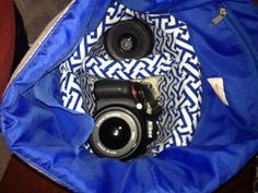 *Random Thoughts of a SUPERMOM!*: Roadtrip Ready: Make a Padded Camera Bag