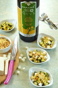 Crumble all'olio extra vergine macké con zucchine e ricotta di capra Una casa in campagna ©2015 Alessandra Colaci