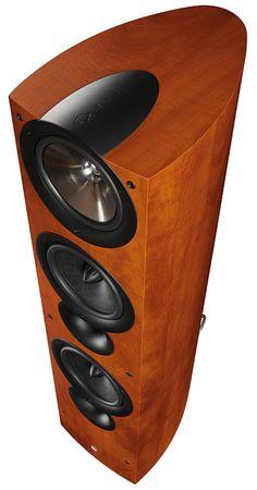 Beautiful KEF IQ9 speakers.  I love my pair!