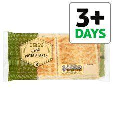 Tesco Potato Farls 8 Pack - Groceries - Tesco Groceries