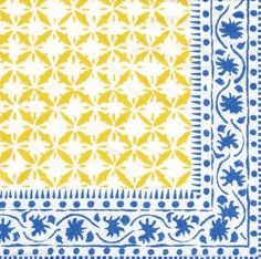 BUT...if we do go with the blue and yellow with pink...I really like these napkins!! Sooooooo pretty!