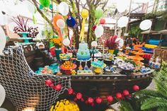 festa infantil fundo do mar arthur camys craft inspire-1