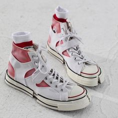 Tomorrow comes Today: Feng Chen Wang Sneakers Mode, Custom Sneakers, Sneakers Fashion, High Top Sneakers, Fashion Shoes, Mens Fashion, Crazy Shoes, Me Too Shoes, Men's Shoes