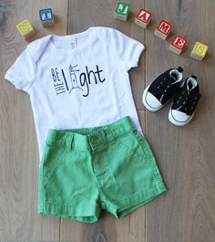 Be the Light Toddler Tee