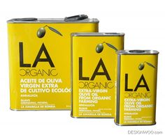 LA Organic olive oil packaging designed by Philippe Starck Olive Oil Packaging, Food Packaging, Packaging Design, Spanish Olive Oil, Olive Oil Benefits, Refined Oil, Container Design, Bowl Of Soup, Restaurant Recipes