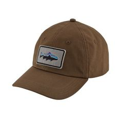 9bda5626 Patagonia Fitz Roy Trout Patch Trad Cap - Timber Brown