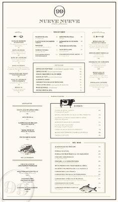 The Secrets To Restaurant Menu Design Menu Restaurant, Restaurant Identity, Restaurant Design, The Menu, Menu Layout, Print Layout, Menu Resto, Speisenkarten Designs, Cafeteria Menu
