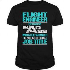 FLIGHT-ENGINEER #Tshirt #clothing. BUY NOW => https://www.sunfrog.com/LifeStyle/FLIGHT-ENGINEER-115760665-Black-Guys.html?60505