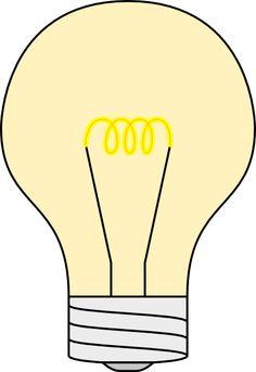 Clip Art Lightbulb Clip Art light bulb clip art free vector bulbs pinterest clipart
