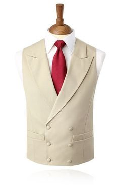 We sell a range of low cost, high quality Morning Suits, Tailcoats and Morning Suit Waistcoats online perfect for Royal Ascot or Weddings, available in a variety of traditional colours. Buy your Morning Suit at Dobell for less than the cost of hiring. Vest And Tie, Suit Vest, Vest Men, Prom Blazers, Modi Jacket, Wedding Waistcoats, Morning Suits, Morning Coat, Beige Vests