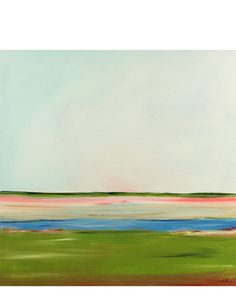 """Pink Marsh"" by Caroline Chriss"