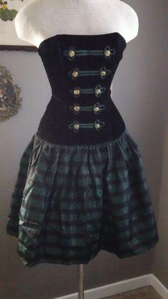 VIntage Irish Pirate St Patricks Day Party Dress by CompanyV, $24.99