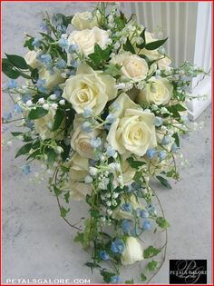 beautiful traditional bouquet from petalsgalore.com
