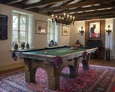 Arts & Crafts - Pool Table