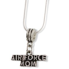 Air Force Mom Snake Chain Necklace