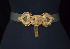 80s Vintage Tribal Belt. Ethnic Indian Hearts by FlanneryCrane, $65.00