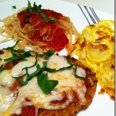 Spoonful at a Time: Gluten-Free Chicken Parmesan