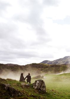 Jamie & Claire from the Outlander series : Photo