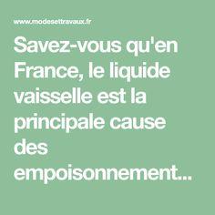Savez-vous qu'en France, le liquide vaisselle est la principale cause des empoisonnements ménagers ? Je viens de l'apprendre. Et en me penchant davantage sur la composition de cet indispensable...