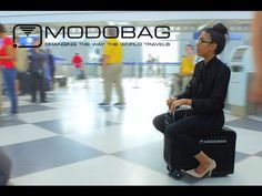 Ok, well this certainly caught my attention:-> Modobag - The World's ONLY Motorized, Smart, Connected Carry-on Luggage!