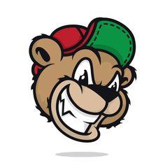 mascot logos 1 by Jon Ramirez, via Behance