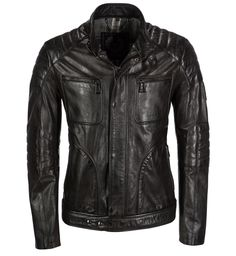 Leather jacket by Belstaff - Weybridge http://www.eckerle.de/marken/belstaff-england/