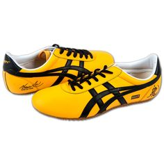 Bruce Lee limited edition yellow jumpsuit trainers. Love.