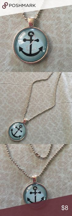 """Anchor Necklace✨NEW ITEM✨ Cute anchor necklace. Chain is about 16"""". New in package. Jewelry Necklaces"""