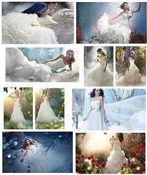 Princesas da Disney - Vestidos de Noiva